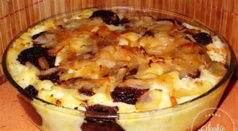 cuisiner le boudin noir gratin au boudin noir la tendresse en cuisine