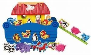 Steckspiele Für Kinder : arche noah aus holz mit magnetfiguren steckspiel mit 22 magnetischen tierblocks noah mit ~ A.2002-acura-tl-radio.info Haus und Dekorationen