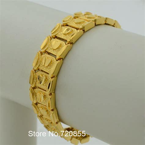 aliexpress buy new arrival 18k real gold plated aliexpress buy chunky bracelet men jewelry 18k