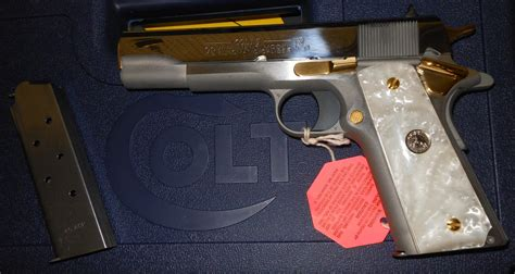 Colt 45 Acp Government Model 1911 Bronze Hors For Sale