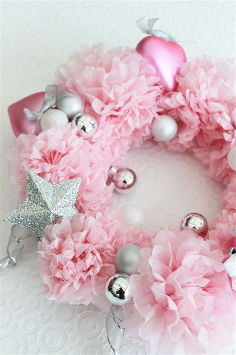 glam pink christmas decor ideas shelterness