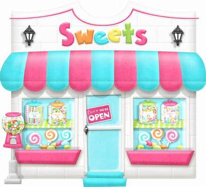 Clipart Candy Sweets Transparent Sweet Candyland Shops