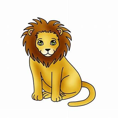 Lion Clipart Clip Graphics Animals Cartoon Lions