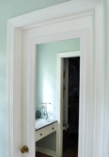 Bathroom Door Mirrors by Framing Out A Mirror That S Mounted On A Door Bedroom