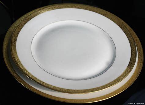 porcelaine de limoges haviland service de table complet dorure ebay
