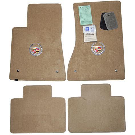 cadillac floor mats cadillac sts titanium grey floor mats 2005 2011