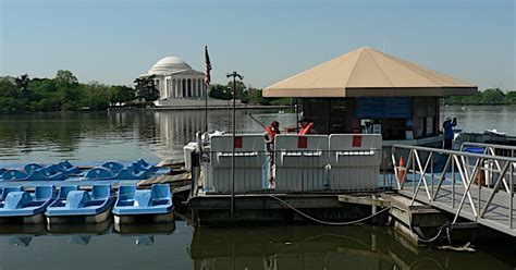 Tidal Basin Paddle Boats by Two Dc Tidal Basin Paddle Boats