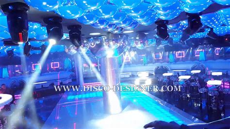 complete nightclub design  led disco panel dj light