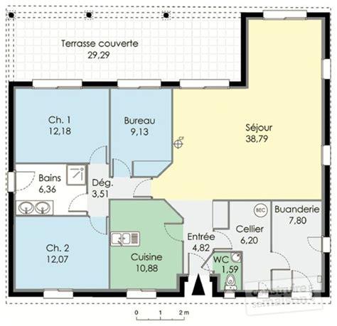 plan de maison 3 chambres cuisine maison familiale dã du plan de maison