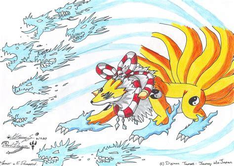 Wild Spirit Kyubimon By Journeyintojapan On Deviantart