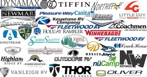 rv manufacturers  definitive list  rv brands camp