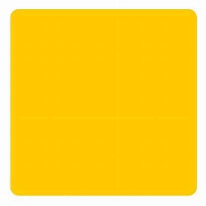 Square Foam Yellow Pack Coaster Assorted Kolorcoat