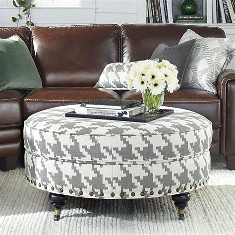 round loveseat with ottoman custom round ottoman for home or office
