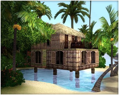 island house my sims 3 summer time 591 tropical house by latoya Tropical