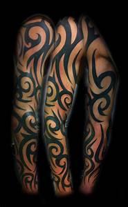 tatto: Tribal Half Sleeve Tattoos for Women