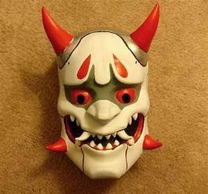 3D Printed Oni Genji Mask Overwatch Pic 4 Htxtafrica