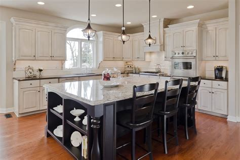 These 20 Stylish Kitchen Island Designs Will Have You Living Room For Guest Furniture Sets Sale Dress Code Manchester Blender Model Design Ideas With Gray Walls Houzz Mirrors Small House The Pub Dublin