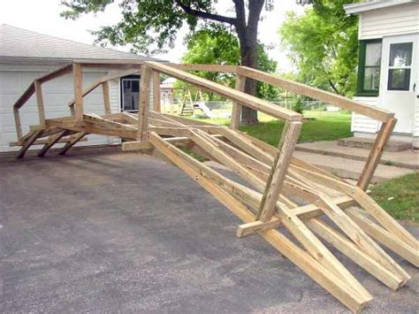 build  footbridge plans diy
