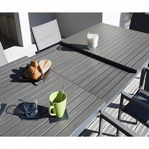 Salon De Jardin 6 Personnes : pack promo salon de jardin 6 personnes laurier pas cher ~ Dode.kayakingforconservation.com Idées de Décoration