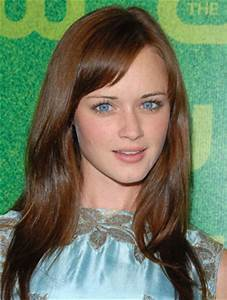 Alexis Bledel's straight style is super-sleek with sweetly ...