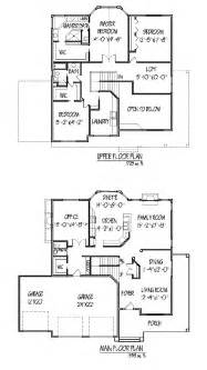 2 story cabin plans two story house plan