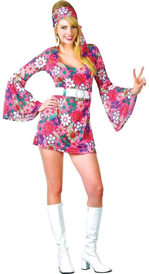 60s Retro Go Go Girl Costume | All Ladies Costumes | Mega Fancy Dress