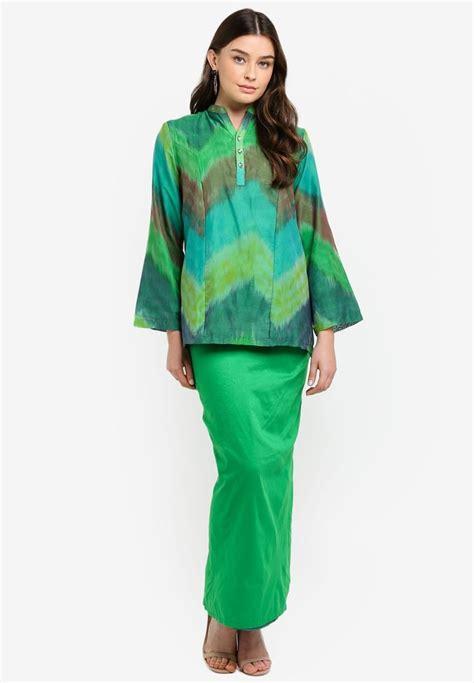 Cara menggambar sketsa wayang bagian tubuh. Baju Kedah Cekak Musang Green_0 | Gambar, Baju kurung ...