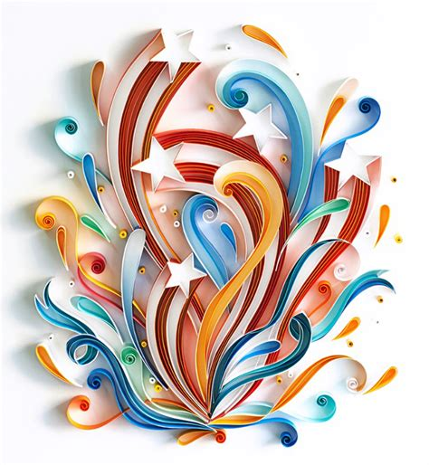 trend report contemporary paper quilling craft industry