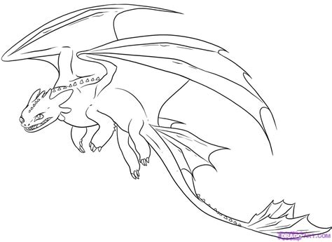 Dreamworks Dragons Coloring Pictures