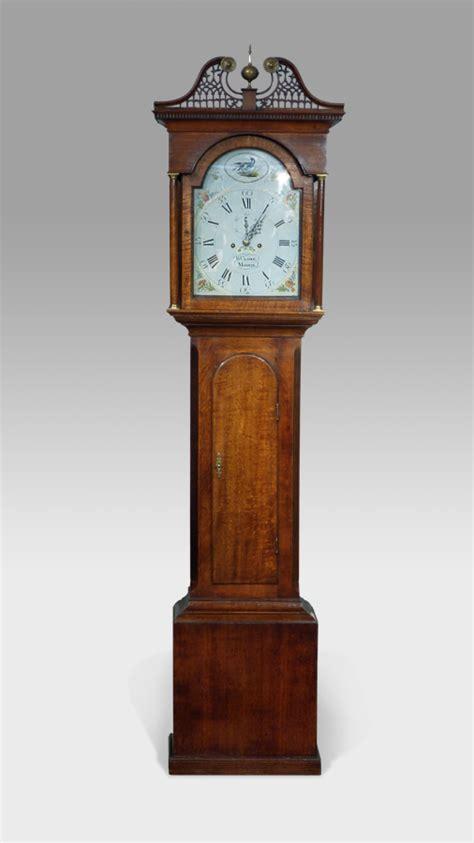 oak bureau desk antique longcase clock antique grandfather clock oak