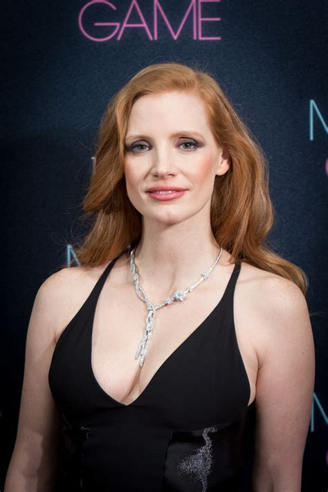 actress like jessica chastain jessica chastain and her cleavage keep it classy