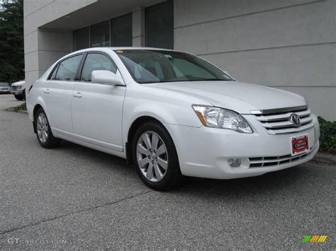 2006 Blizzard White Pearl Toyota Avalon Xls 16108263
