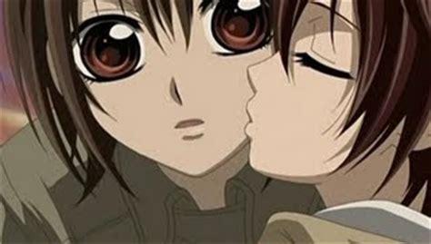 anime couple kiss on cheek my precious my days anime couple pics p