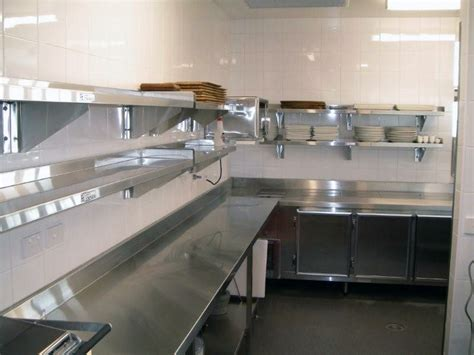 commercial kitchen ideas stainlesssteeltile com likes the small commercial