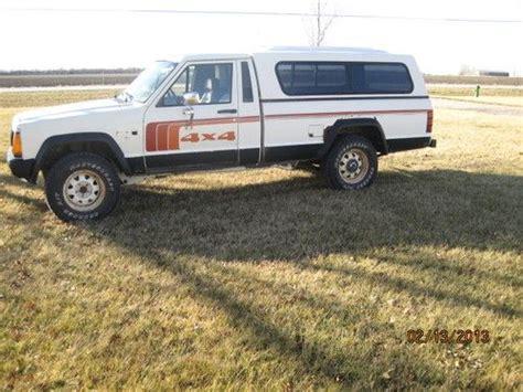 jeep comanche 4x4 purchase used 1986 jeep comanche 4x4 longbed pickup in