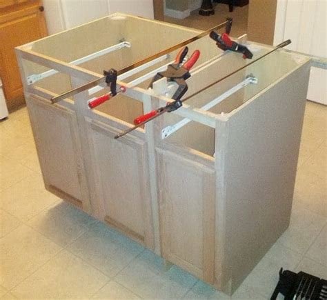 how to build kitchen islands how to a diy kitchen island and install in your
