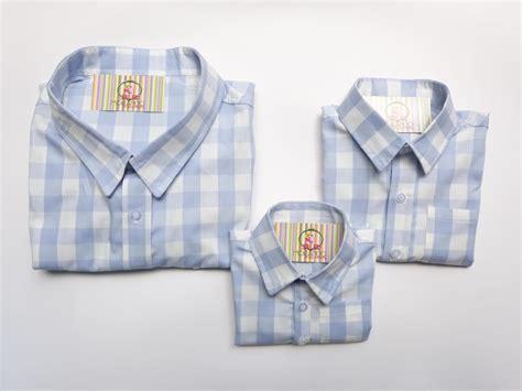 Camisa Fazendinha Familia Xadrez manga curta no Elo7