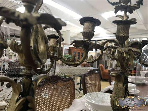 candelieri antichi coppia di candelieri antichi lacole casa italiana