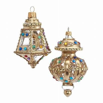 Christmas Ornaments Lantern Jeweled Gumps Gump