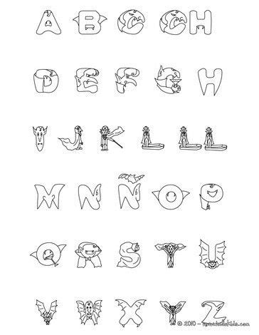 halloween letters coloring pages tripafethna