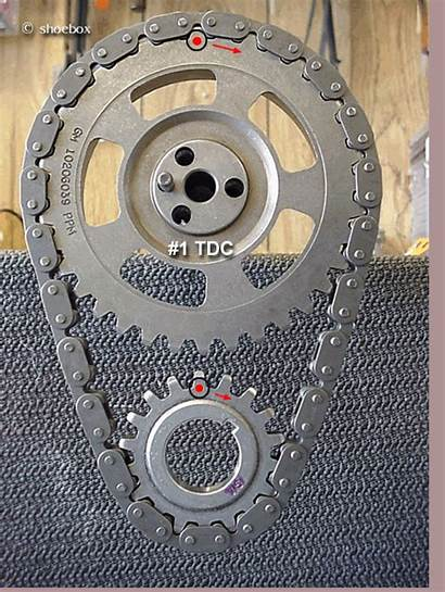 Timing Cam Gear Marks Chain Crank Alignment