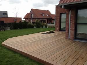 Terrasse en Ipé bois exotique classe 5, le bois exotique le plus résistantCerisier : abris de