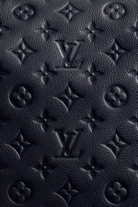 black leather louis vuitton patterns wallpaper free