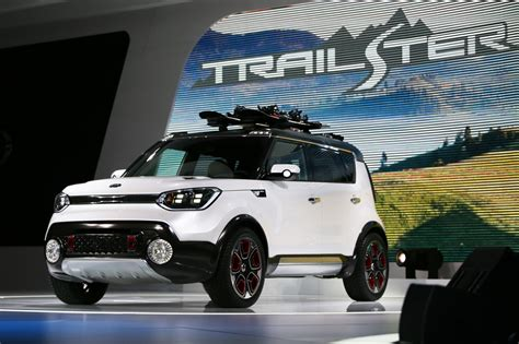 Kia Soul Trailster by Kia Shows Awd Soul Trailster At Chicago Auto Show
