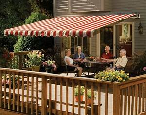 14 U0026 39  Sunsetter Vista Awning  Manual Retractable Outdoor