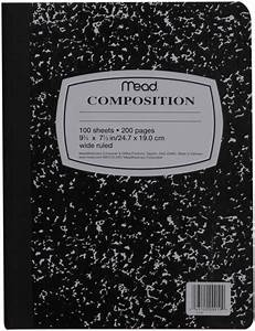 Composition Notebook Clipart - Clipart Suggest