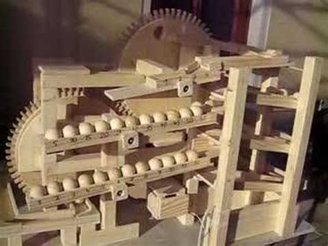 kugeluhr rolling ball clock youtube