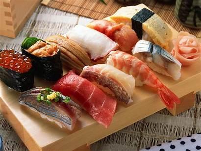 Sushi Japanese Cuisine Seafood Wallpapers Japan Tokyo