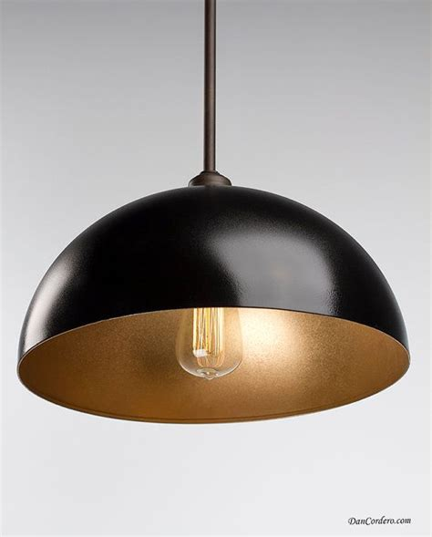 gold rubbed bronze edison pendant light fixture