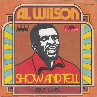 Wilson Show by Show And Tell Song